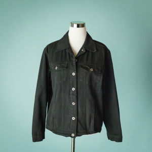 Cut Loose L Black Denim Style Jacket